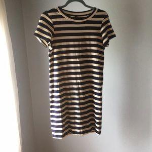 Uniqlo striped T-shirt dress